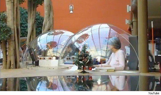 bubble desk
