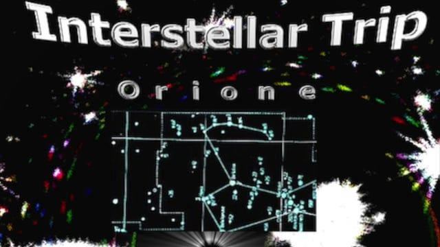Interstellar Trip Orione,  Interstellar traverses the stars through black holes but the original plan to cross the void of space was Project Orion. It is a project of NASA.