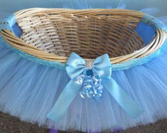 Tutu Basket Tutu Gift Basket Tutu Baby Shower by MissMadelynsBows