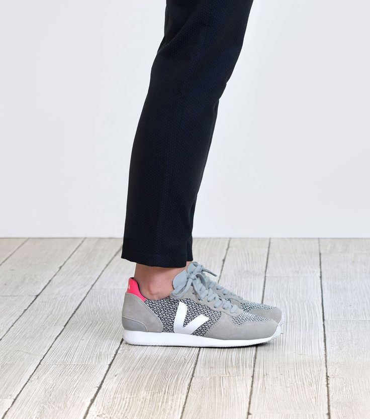 Veja Holiday sneaker in organic cotton, vegetable tanned leather and blend