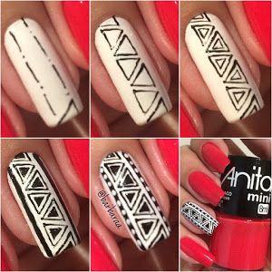 2 diseños únicos para tus uñas paso a paso | Belleza