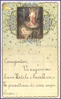 Letterine di Natale - biglietti di auguri