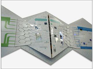 Hybrid Physicality Physical-Cyber Environment | by Screenlander, interactive hybrid poster. Physical-cyber environments. Hybrid reality