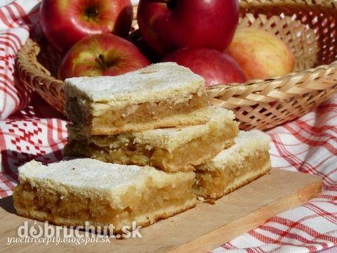 Fotorecept: Babkin jablkový koláč