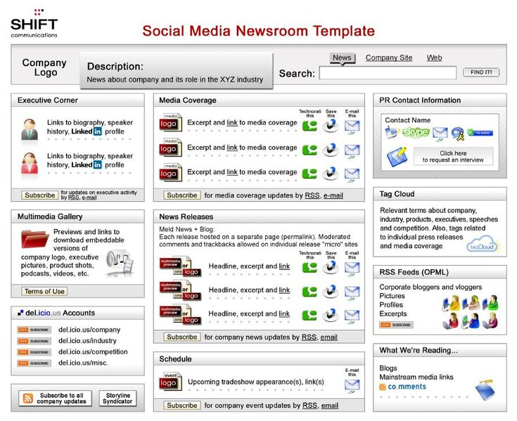 22 best Social Media Newsroom Social Media Press Release images - press release template