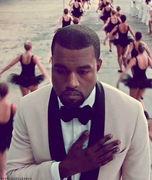 kanye - even though you are a d-bag, you're brilliant and i love ya.