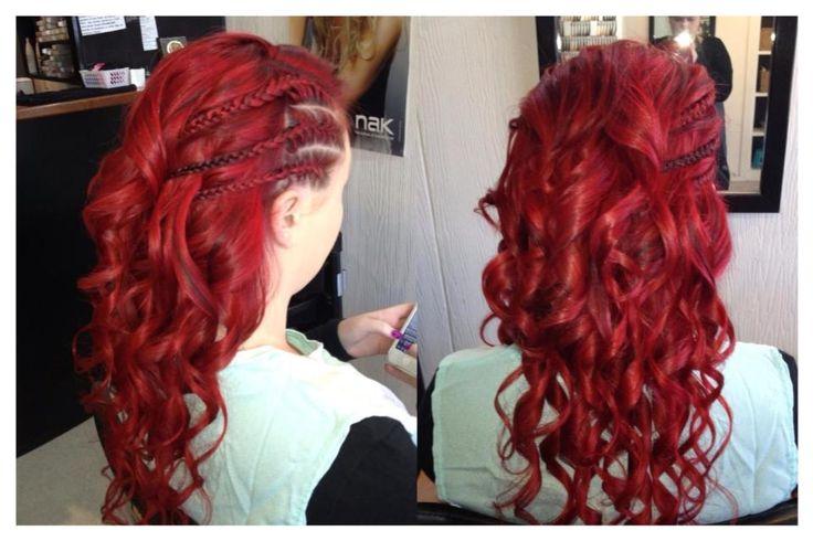 Karla Jade's Red Curls!