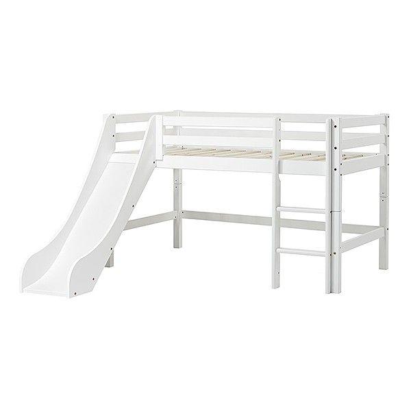 Halvhøy seng m/sklie - Basic - 70x160 - Hoppekids - KidsParadise - Nettbutikken KidsParadise.no