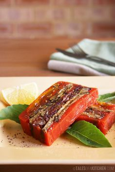 24 best images about food terrines on pinterest for Tomato terrine