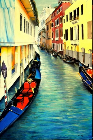 Venice oil by Bill