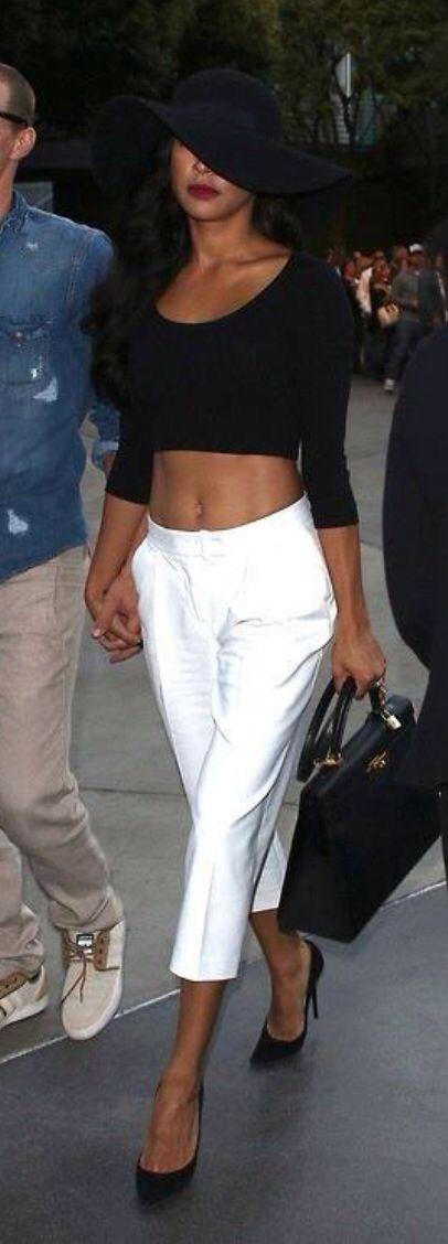 Naya Rivera in Gucci hat