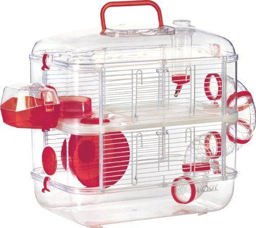 ICYMI: Zolux Trio Rodylounge Kiwi Cage pour Petit Animal: Cage Red Hamster