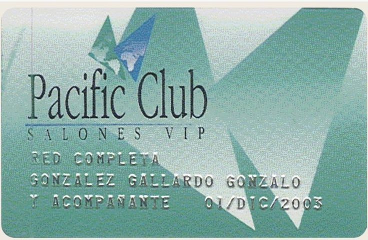 Convenios Pacific Club | Salones VIP. Did you know that we have partnershops with almost ALL major banks and credit cards around the world?  No?  Check if you are already a member of VIP Lounges Pacific Club TODAY, and travel in luxury.