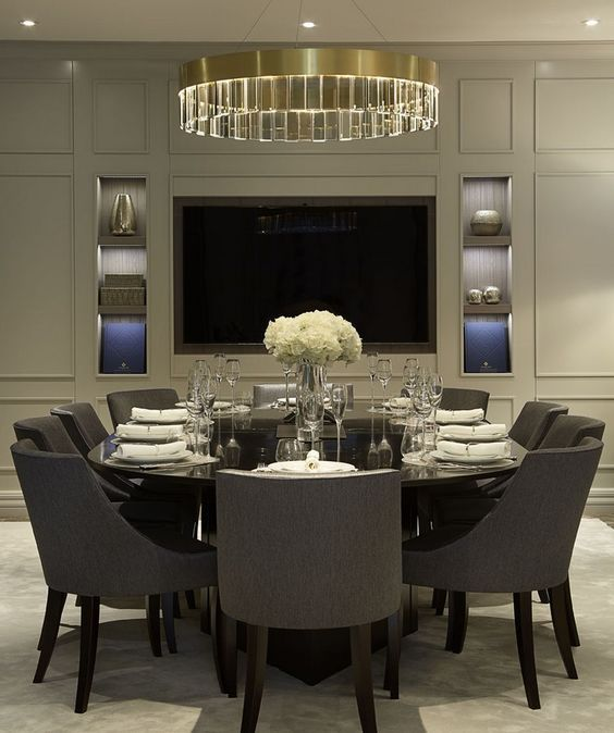 8 Spectacular Dining Room Ideas Featuring Modern Chairs   Modern Interior Design   Chair Design   #diningroomchairs #moderndiningroom #diningroominspirations More ideas: http://modernchairs.eu/spectacular-dining-room-ideas-featuring-modern-chairs/