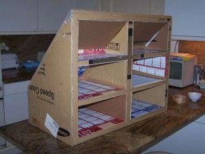 19 best meubles rangement sous pente en carton images on Pinterest | Attic spaces, Cardboard ...
