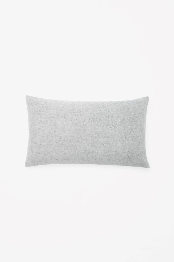 COS | Rectangular wool-cashmere cushion