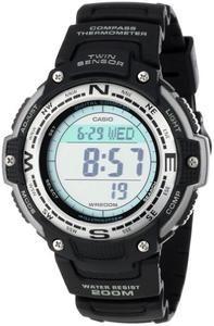 Casio Men's SGW100-1V Digital Compass Twin Sensor Sport Watch