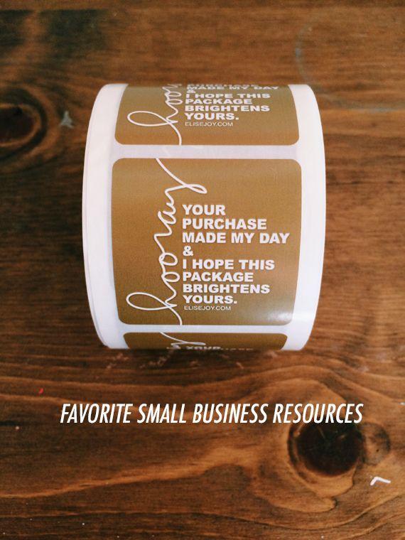 small business resources. (Elise Blaha :: enJOY it.)