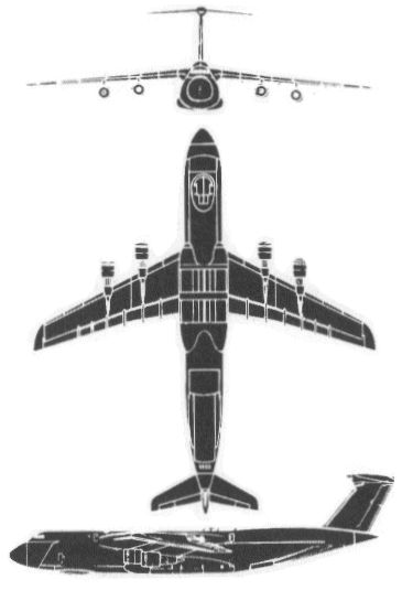 Military Aircraft (Schematic View) Flashcards by