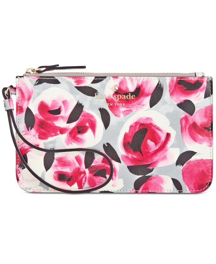 kate spade new york Cedar Street Rose Slim Bee Wristlet