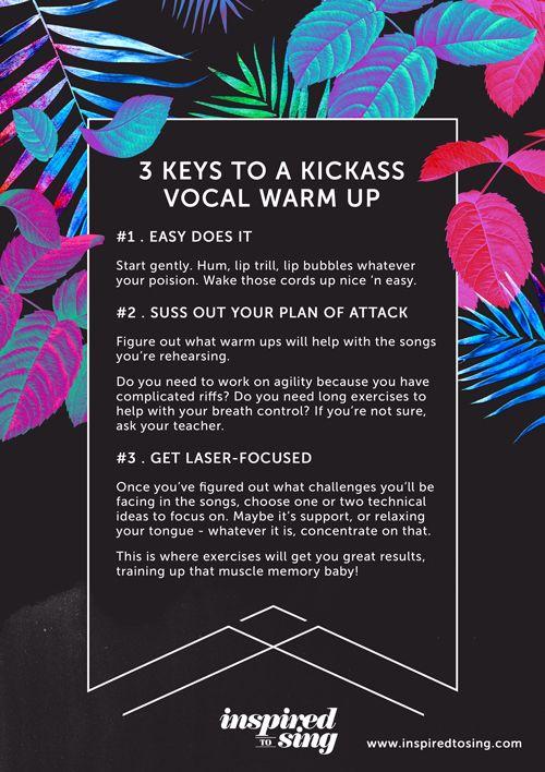 The 3 Keys To A Kickass Vocal Warm Upu2026