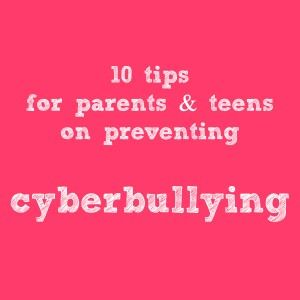 how to prevent and stop cyber bullying