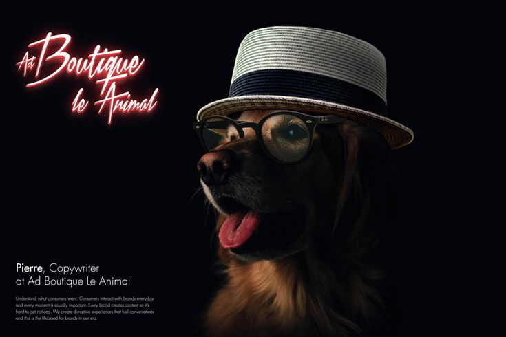 Ad Boutique Le Animal: Pierre, Copywriter | Ads of the World™
