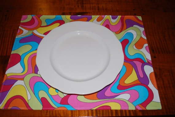 groovy double sided placemats