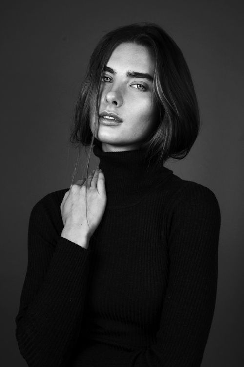 Gabriele at Leni's Model agency London shot by Constance Victoria Phillips fashion and portrait photographer 2015