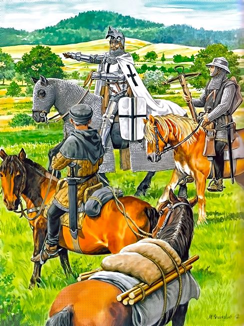 """""""Contingents of the Teutonic Order approx. 1420"""""""