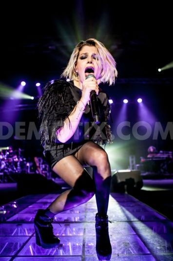 Emma Marrone performs live at Alcatraz in Milan. November 14th, 2012.