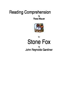 Printables Stone Fox Worksheets 1000 images about stone fox on pinterest reading comprehension for with grammar worksheets