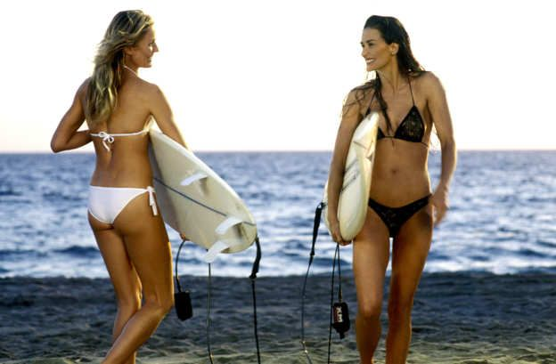 Best Beach Hair Moments - Cameron Diaz And Demi Moore In Charlie's Angels: Full Throttle