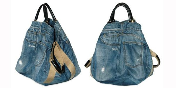 Dolce e Gabbana denim bag