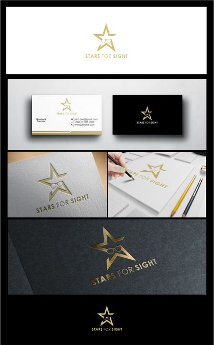 Create a logo for celebrities to donate glasses for charity by si_back