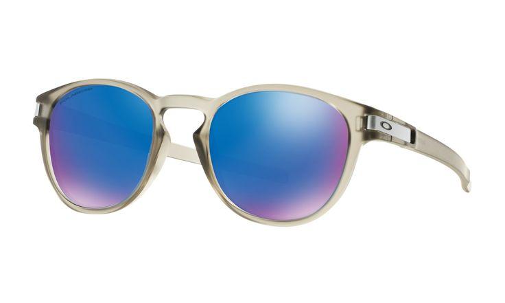 Oakley Latch Matte Grey Ink Sunglasses Sapphire Iridium