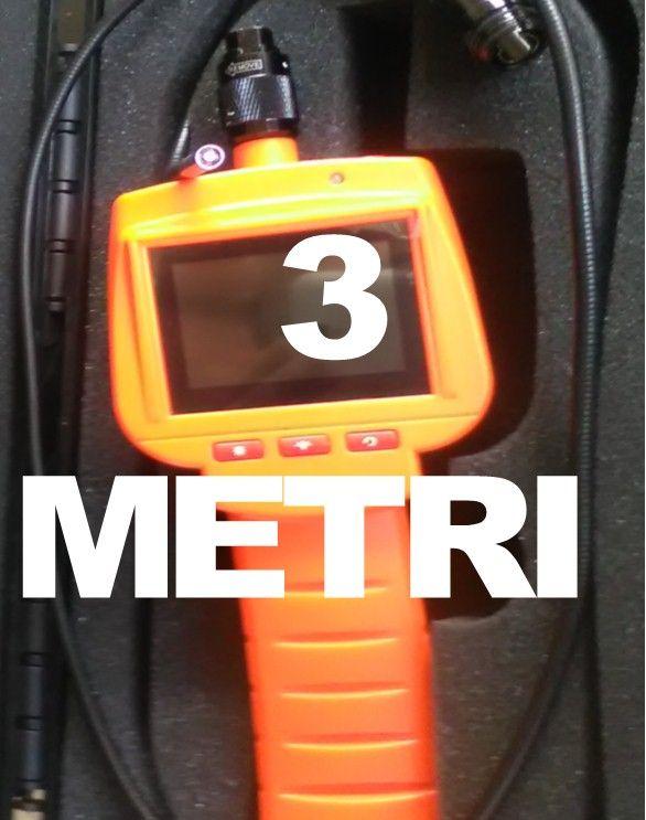 Offerta telecamera idraulica videoispezione 3 metri 9 millimetri monitor