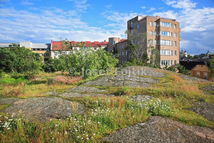 New houses in Kotka, Finland