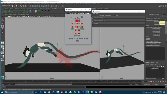 A demo of stylized, interpolationless animation with a variable frame rate and partial ephemeral rigging for Vintata Animation Studio