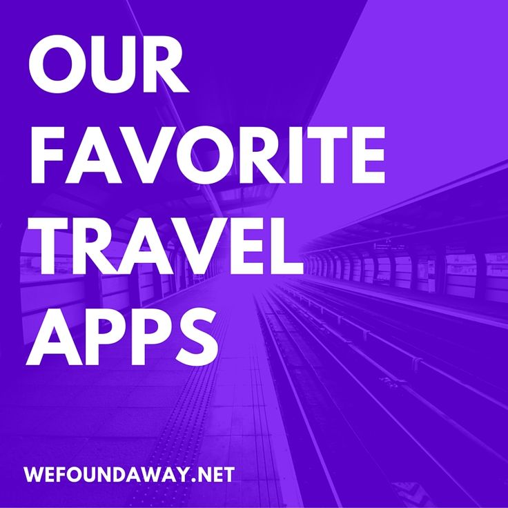 Best Apps To Travel With
