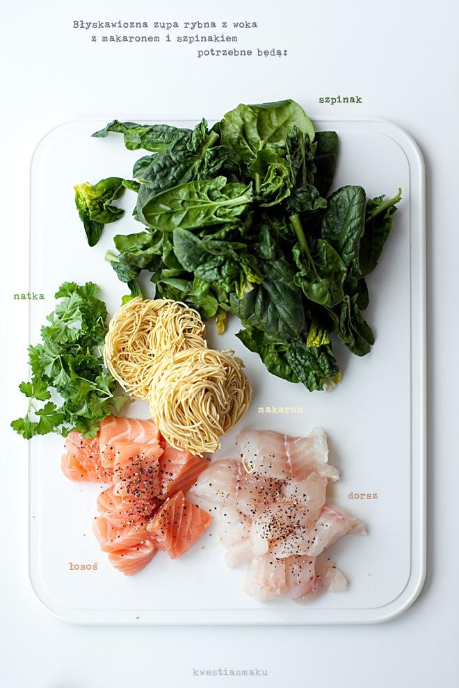 Zupa rybna z woka - Przepis