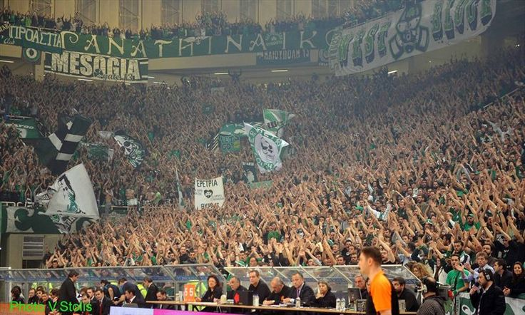 #Fans of #Panathinaikos #Gate13