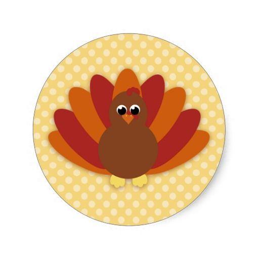Cute Cartoon Thanksgiving Turkey - 19.0KB