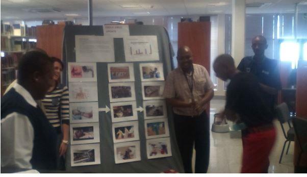 Unisa Library Rustenburg Branch Ebola Display