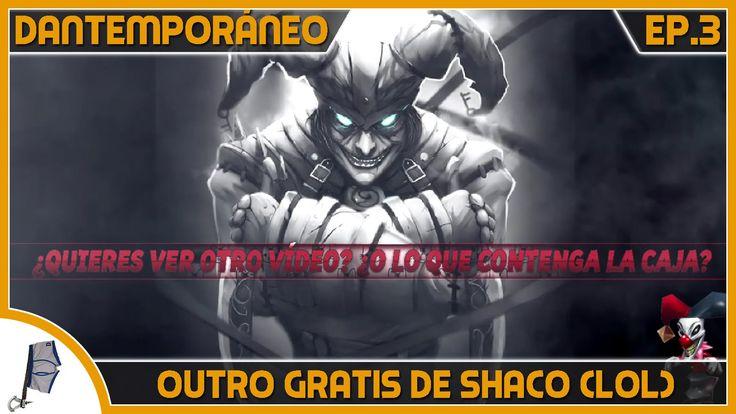 Outro básica y gratuita que hice sobre Shaco (league of legends). En la descripción del vídeo tenéis el enlace de descargar y cómo utilizarlo.