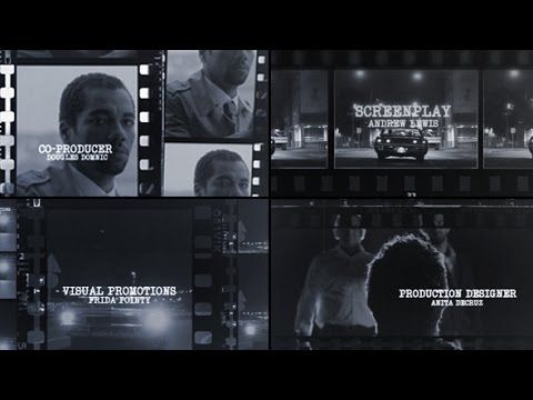Cinematic Title Sequence | After Effects Template | Royalty Free Video
