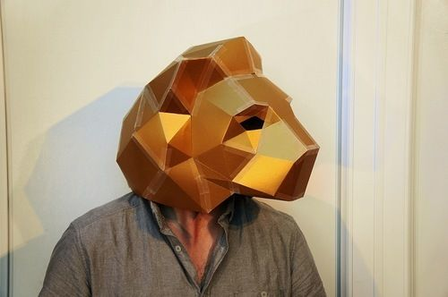 The Lion Man  The 18 Most Stunning 3D Masks Created By A Talented Designer • Page 2 of 5 • BoredBug