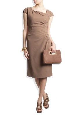 DAVINA - Zakelijke jurken - Beige