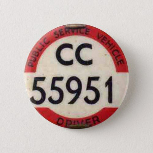 BUS DRIVERS BADGE UK BUTTON