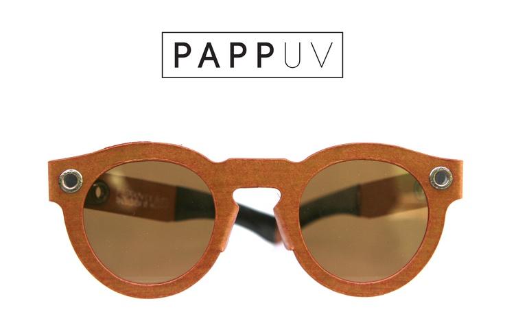 PAPPUV - Cardboard Sunglasses Handmade in Germany Waterproof. Sustainable. Flexible. UV 400. Polarized. Anti-Scratch #cardboard #sunglasses #eyewear